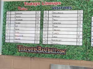 5 lineups