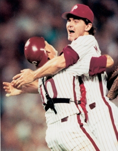 "Terence John Mulholland Position: Pitcher Bats: Right, Throws: Left Height: 6' 3"", Weight: 200 lb. Born: March 9, 1963 in Uniontown, PA (Age 52.248) High School: Laurel Highlands HS (Uniontown, PA) School: Marietta College (Marietta, OH) Drafted by the San Francisco Giants in the 1st round (24th pick) of the 1984 amateur draft. (All Transactions) Debut: June 8, 1986 (Age 23.091, 12,782nd in MLB history)   vs. CIN 7.1 IP, 5 H, 6 SO, 3 BB, 1 ER Rookie Status: Exceeded rookie limits during 1986 season [*] Teams (by GP): Phillies/Cubs/Twins/Giants/Braves/... 1986-2006 Agents: Joe Bick [*] Last Game: June 3, 2006 (Age 43.086)   vs. ATL 0 AB, 0 H, 0 HR, 0 RBI, 0 SB"